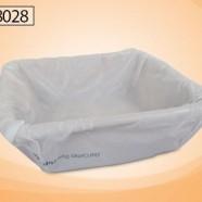 Disposable 4L Wash Basin w/Hygiene Control Bag