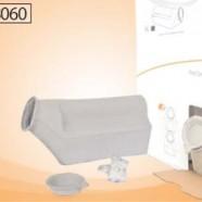 Disposable Urine Bottle,  1.5L, w/SAP by Curas™ & Lid,  X-Large