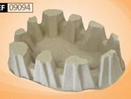 Bedpan Support, Disposable Pulp Extra Heavy Duty (175-200kg)
