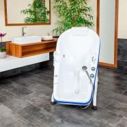 INVITA tilting bath tub