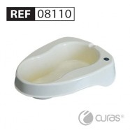 Reusable Bedpan & Support 2L, Large (for REF 08000),   Autoclavable, CleanPak™