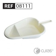 Slipper/Fracture Pan & Support 1.7L, Medium (Midi for REF 08001), Autoclavable, CleanPak™