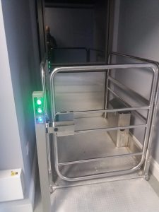 Terry Meoldy 1 Short Rise Platform Lift - Easy to use controls
