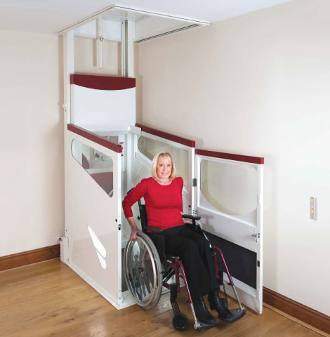 Through Floor Lift