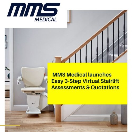 MMS Medical Launches Virual Stairlift Appointments