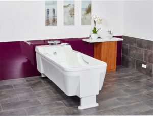 The special feature about the Avero Classic Bathtub from MMS Medical is the timeless design, which is reflected in a clean and sleek outer form, ...