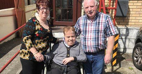 Darrens New Wheelchair