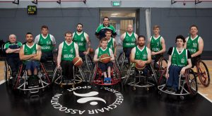 Irish Wheelchair Team