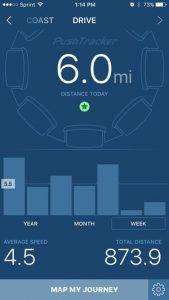 Push Tracker Drive Time