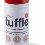 Vernacare Tuffie Disinfectant Wipes